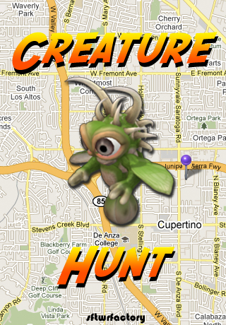 Creature Hunt Screen