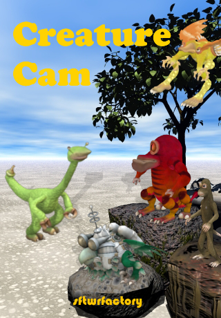 Creature Cam Title Screen