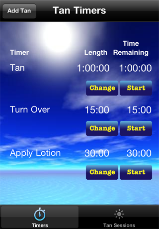 Tan Pro Timers Screenshot