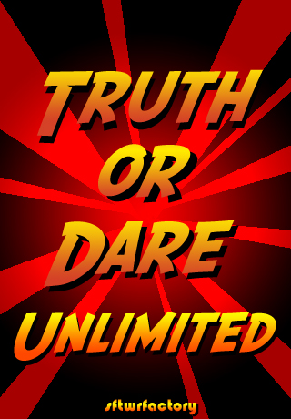 Truth or Dare Unlimited Default Screen